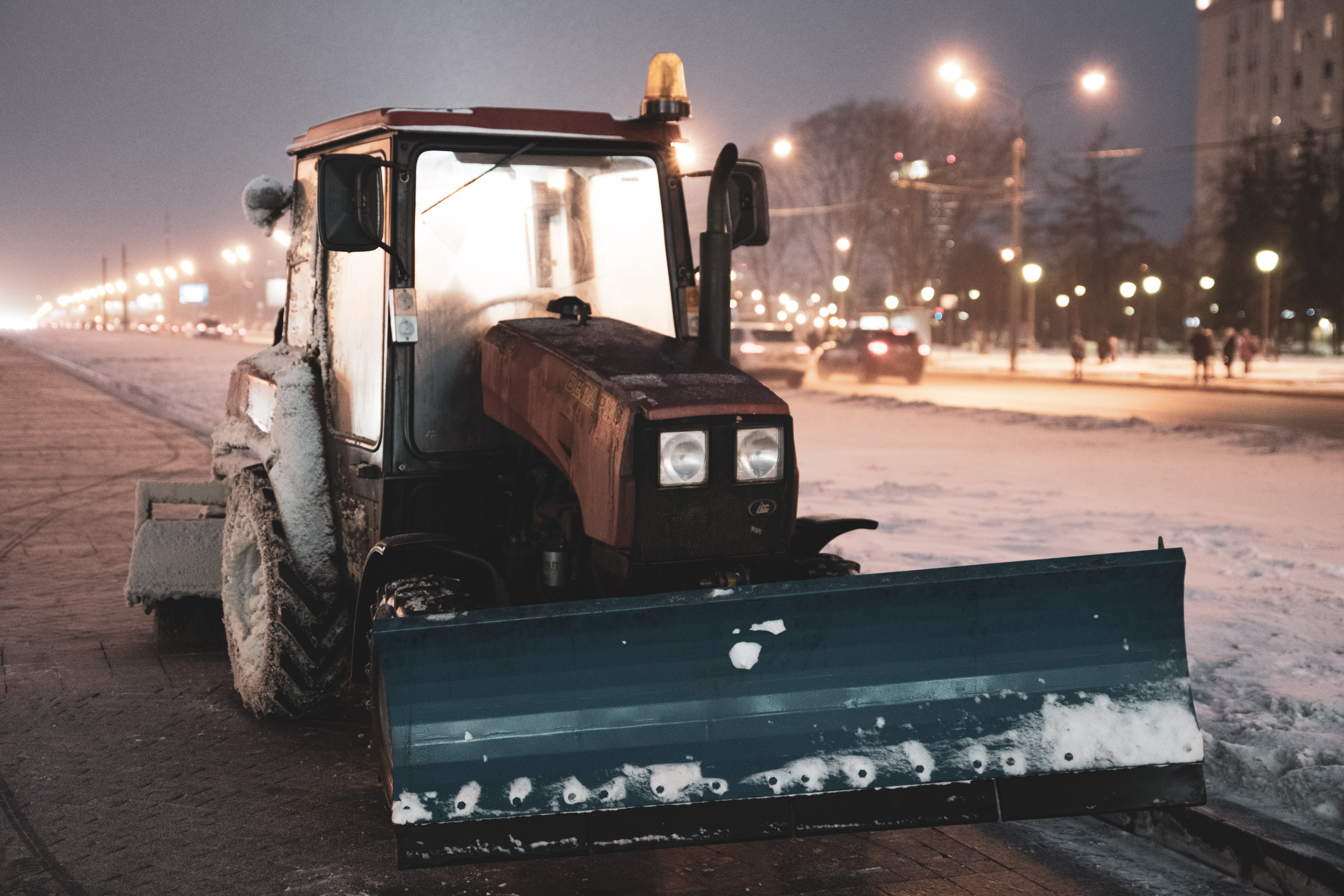 Free stock photo of agricultural machine, car lights, christmas, flashlight