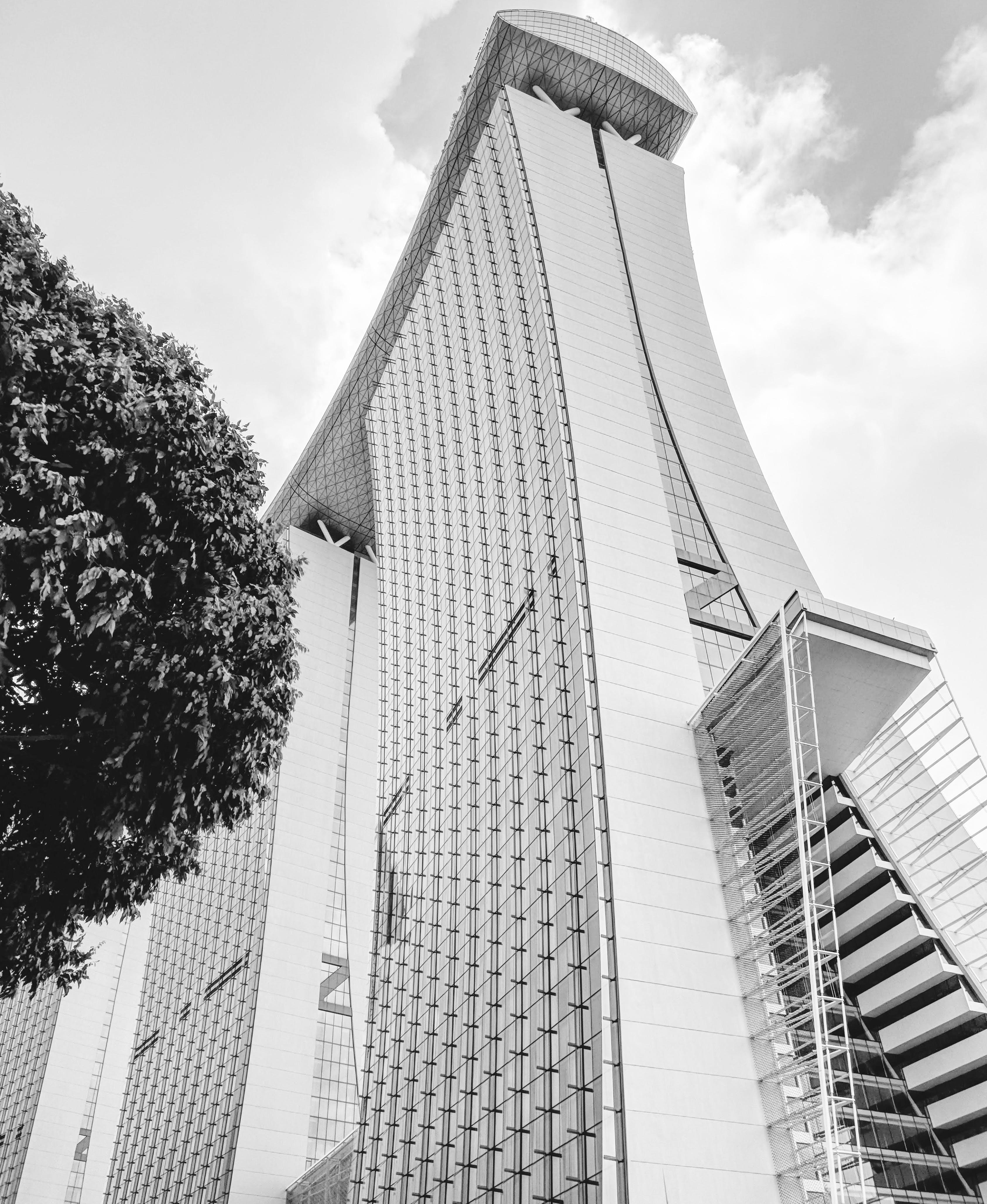 Free stock photo of architectural design, architecture, Asian architecture, black and white
