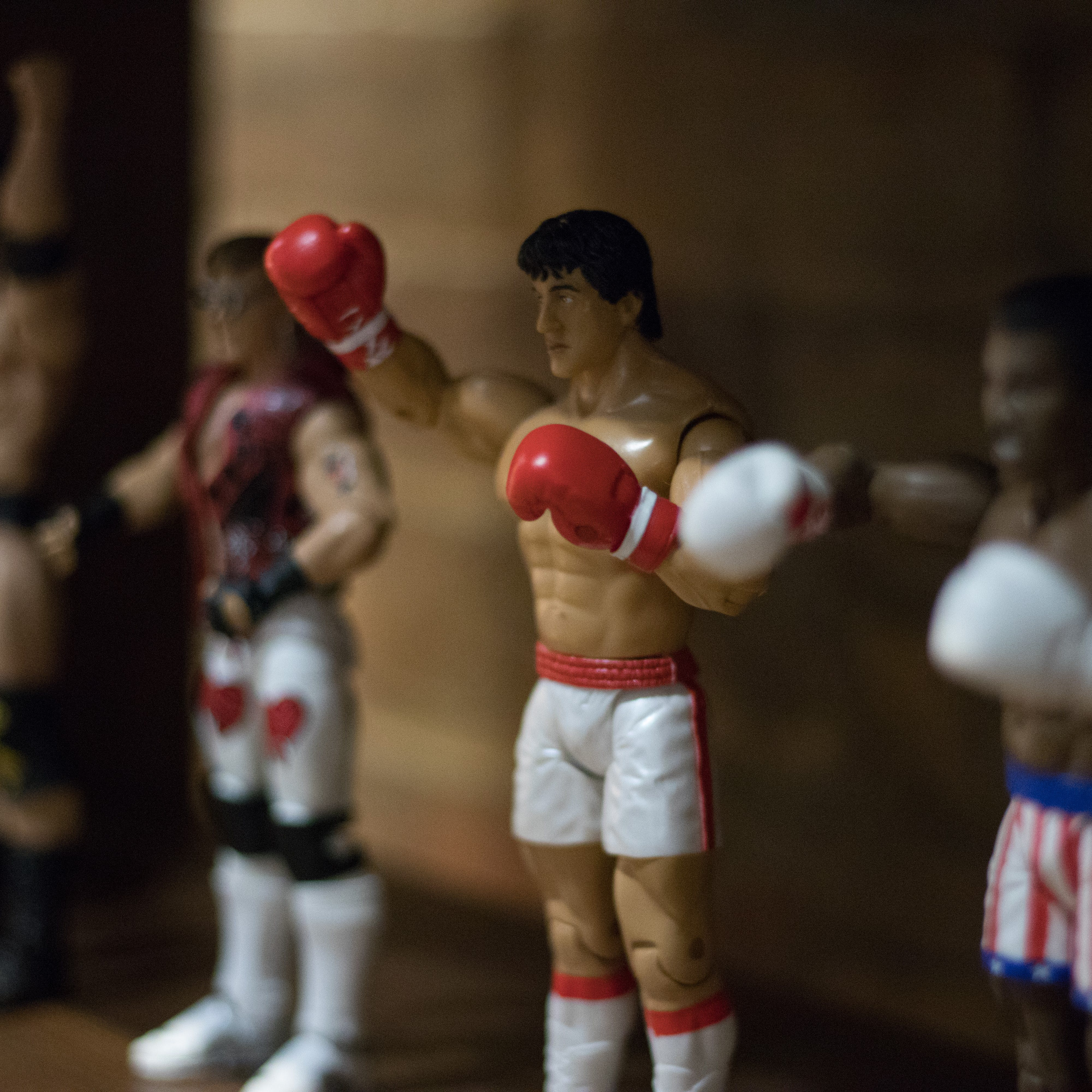 Free stock photo of action figure, fighter, rocky, toy