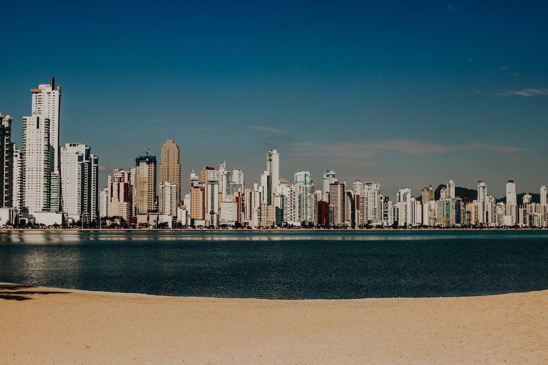 belváros, épületek, felhőkarcolók