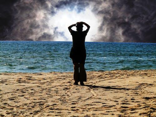 水, 海灘, 藝術的 的 免費圖庫相片