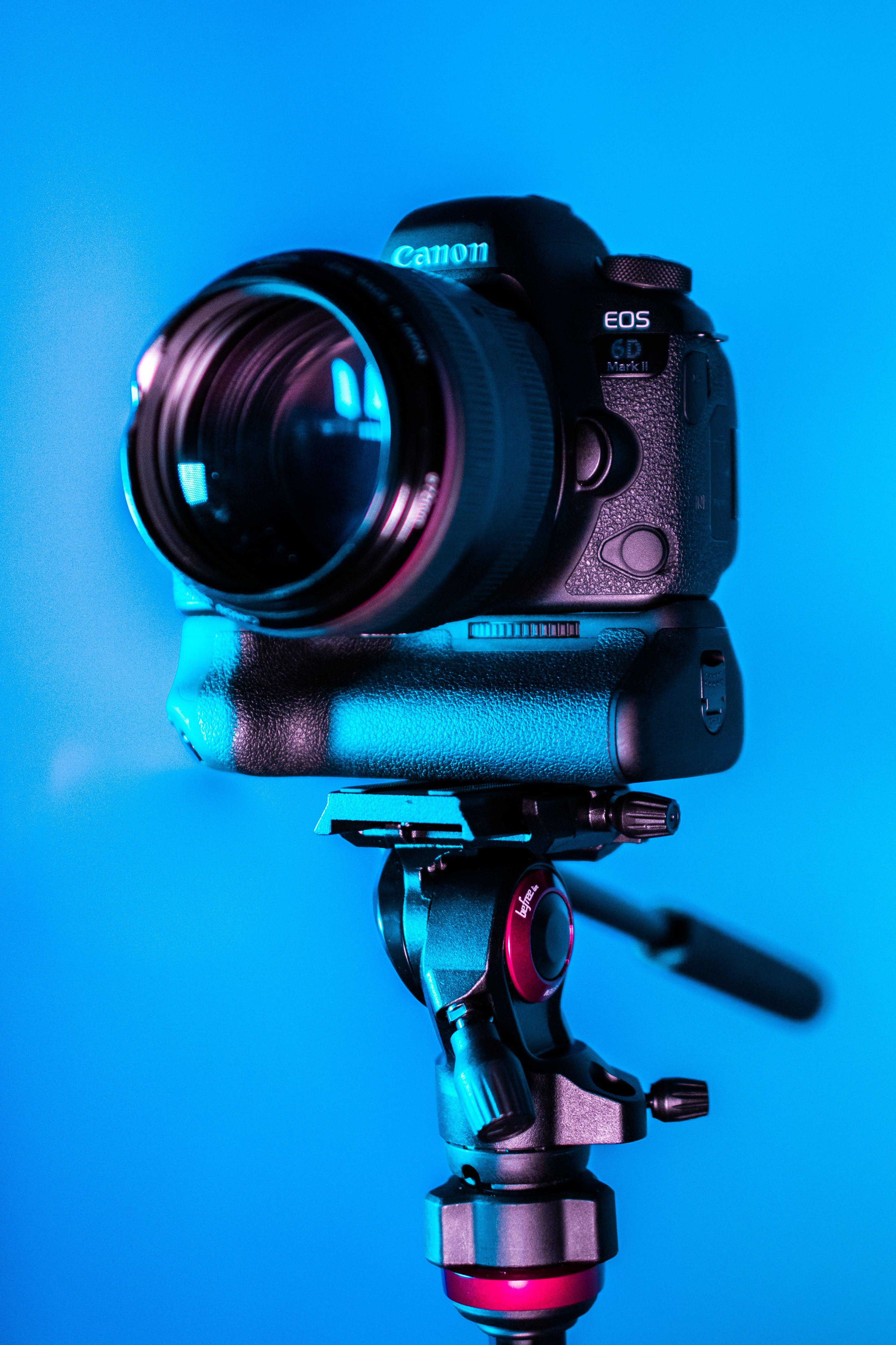Close-Up Photo of Dslr Camera