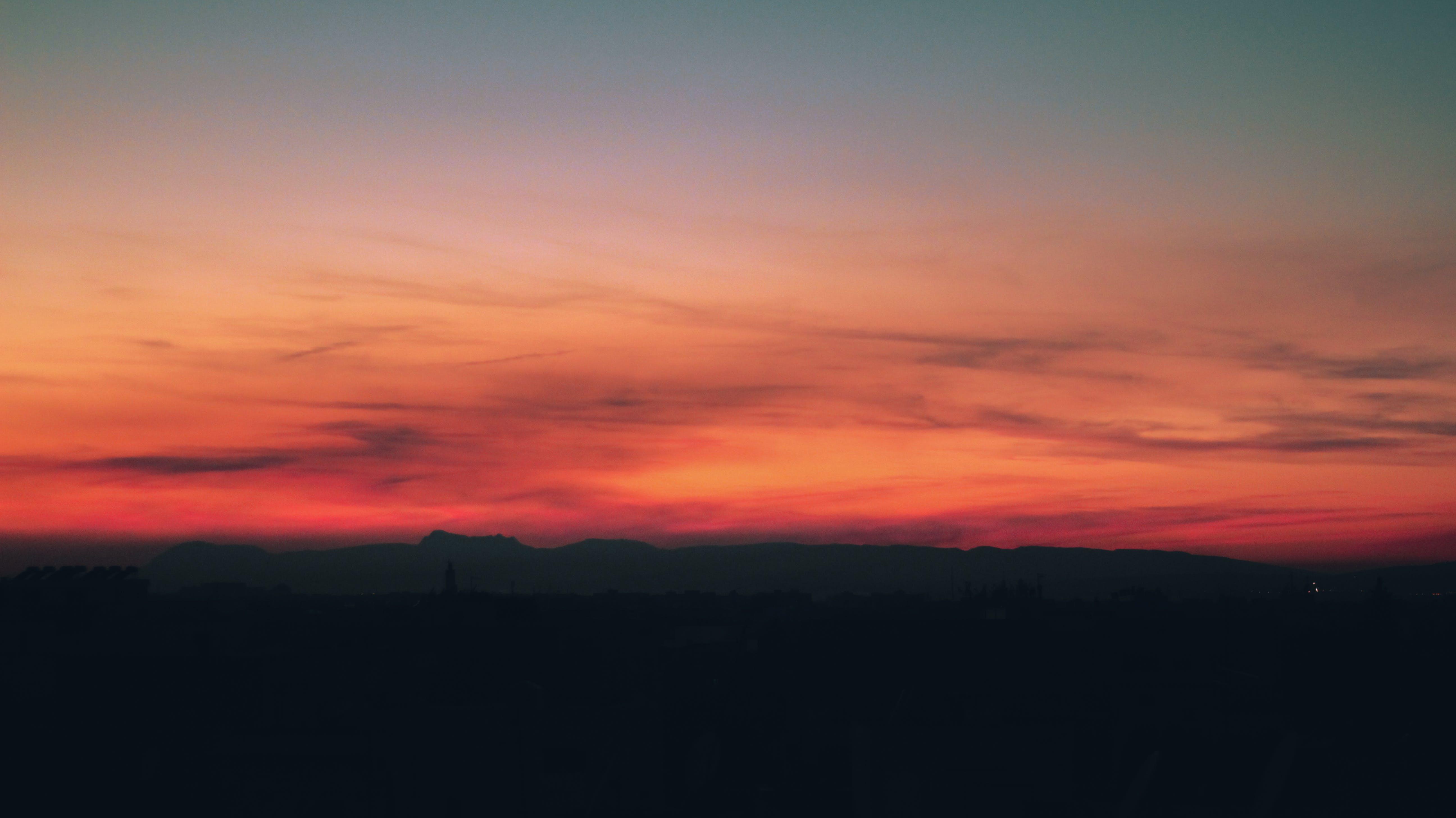 Imagine de stoc gratuită din apus, cer, lumină, natură