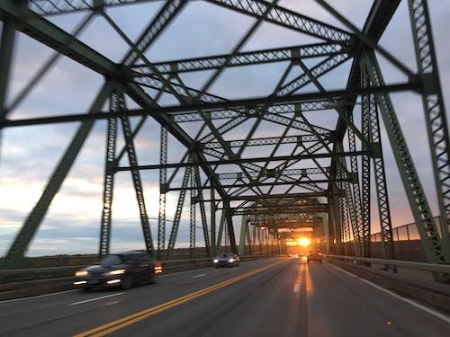 Free stock photo of bridge, hvcc, sunset