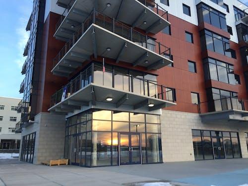 Free stock photo of condo, condominium, evening sun