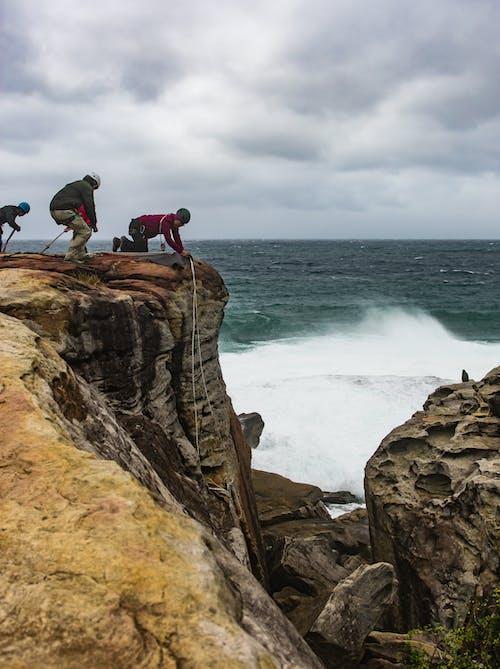 Free stock photo of clovelly, rockclimbing