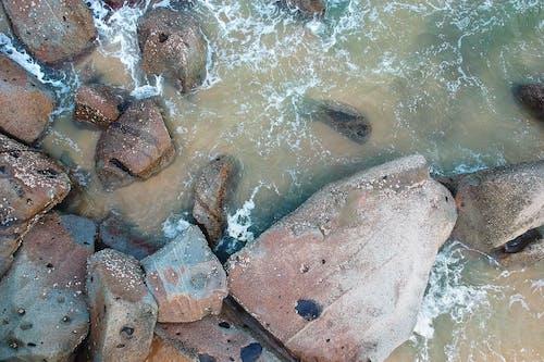 Foto d'estoc gratuïta de mar, oceà, pedres, roques