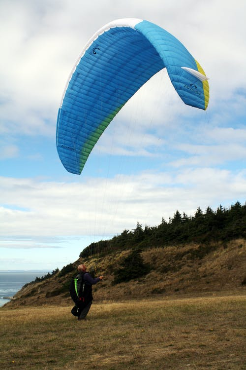 Free stock photo of adventure, paraglider, paragliding, sport