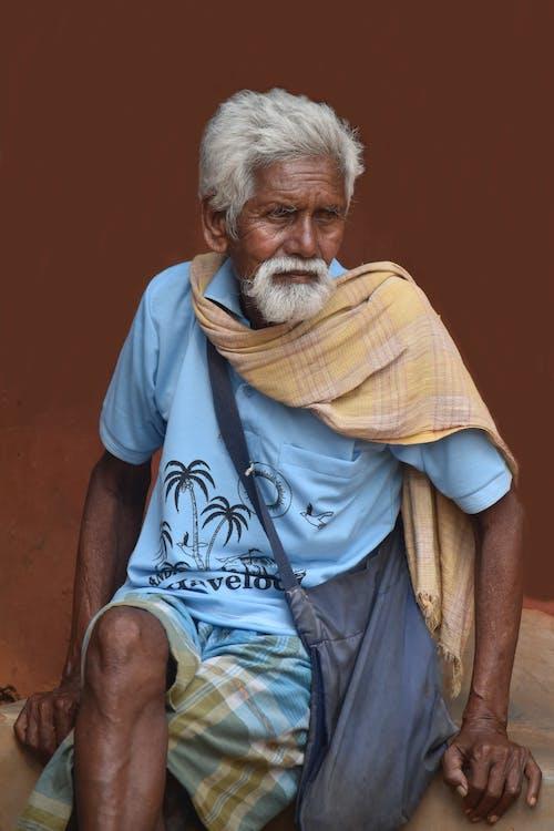 亞洲, 人, 老人, 肖像 的 免費圖庫相片