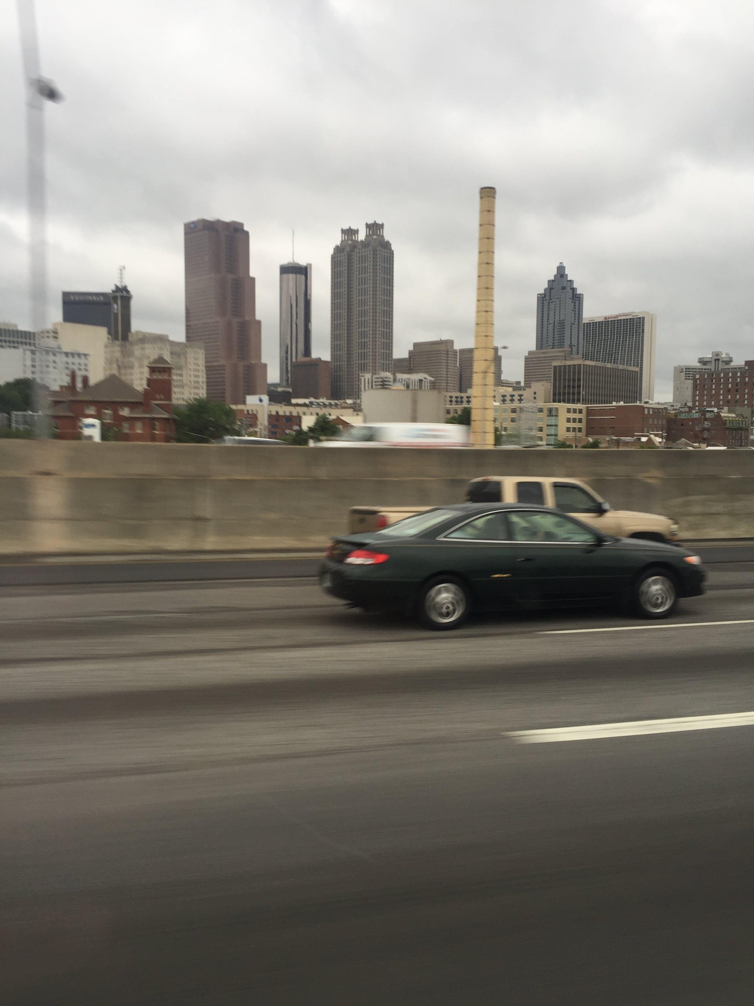 Free stock photo of atlanta, cars, city, cloudy
