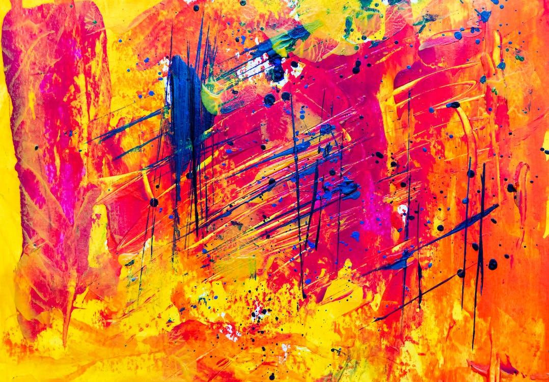 Základová fotografie zdarma na téma abstraktní, abstraktní expresionismus, abstraktní obraz