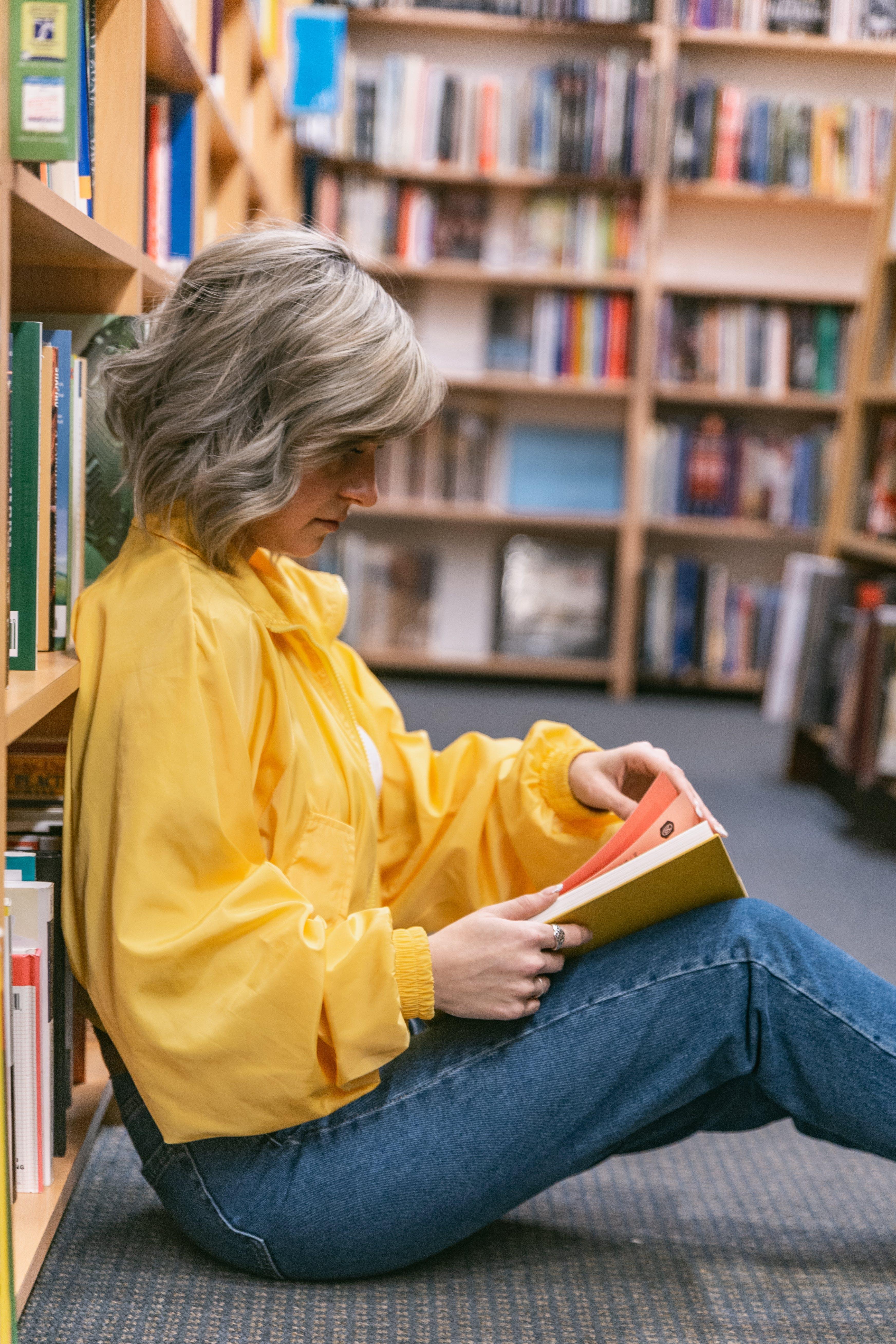 Women's Yellow Long Sleeve Shirt