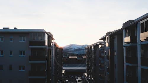 Základová fotografie zdarma na téma krajina, melancholický, noir, obloha