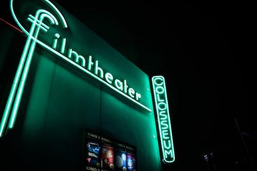 Foto stok gratis bioskop, bisnis, cahaya, Desain