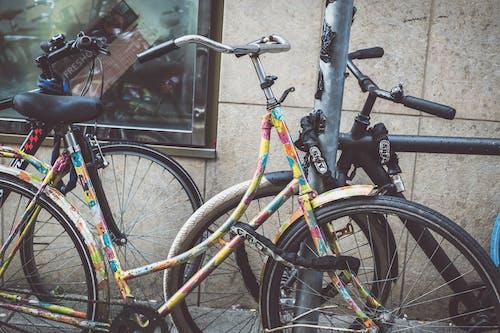 Foto d'estoc gratuïta de 35 mm, amsterdam, bici, carrer