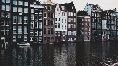 Free stock photo of 35mm, amsterdam, buildings