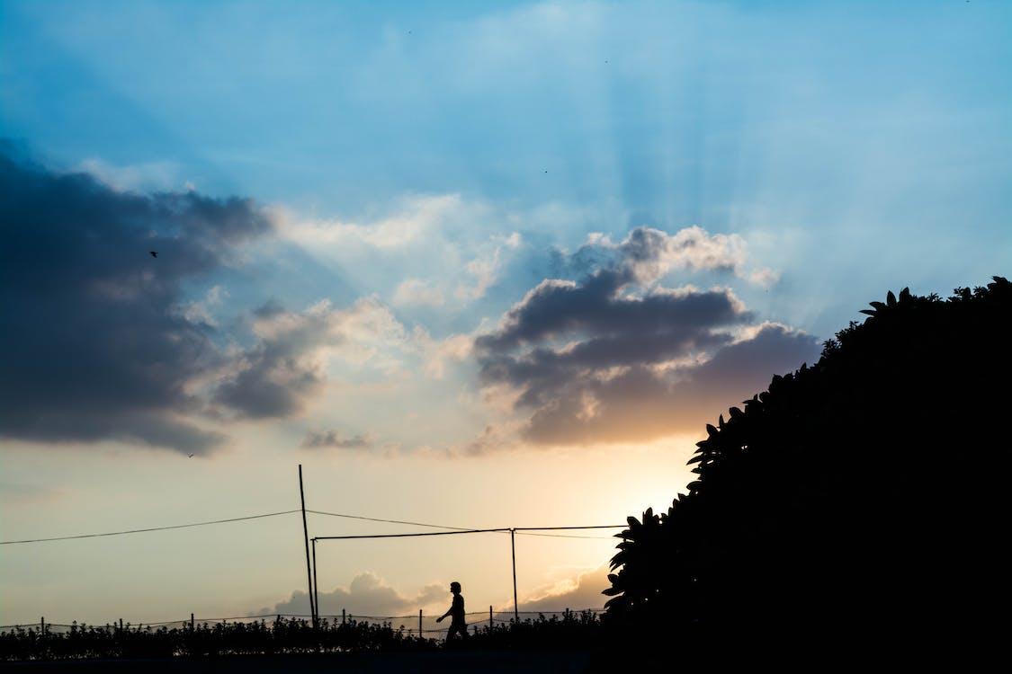 Imagine de stoc gratuită din albastru, apus, cer