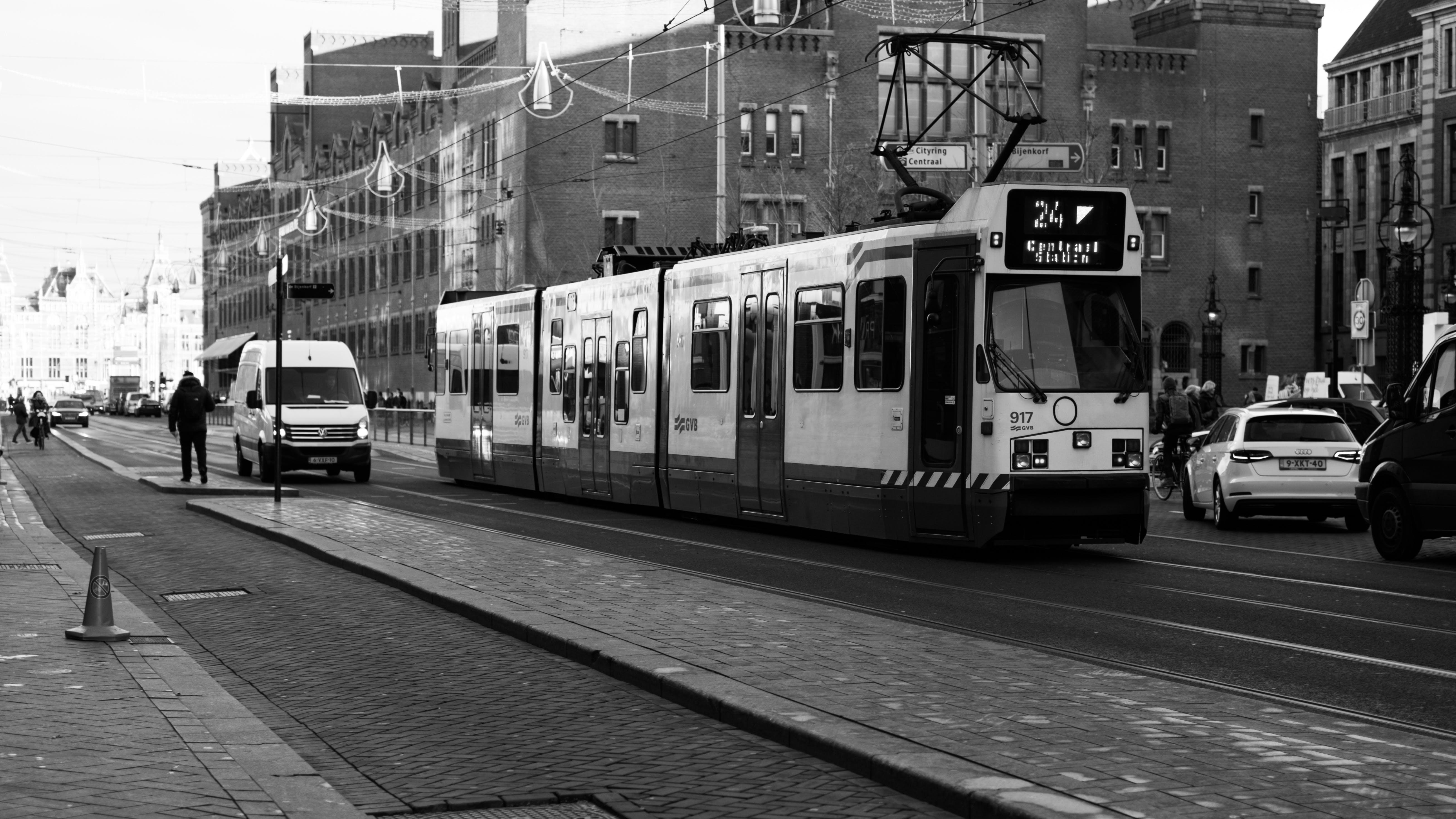 Fotos de stock gratuitas de 35 mm, amsterdam, blanco y negro, ByN