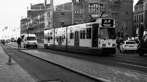 Foto d'estoc gratuïta de 35 mm, amsterdam, b/n, blanc i negre