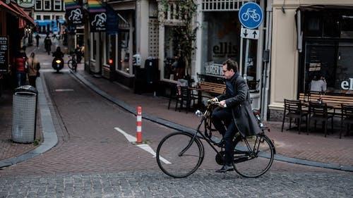 Foto d'estoc gratuïta de 35 mm, amsterdam, bici, Camí