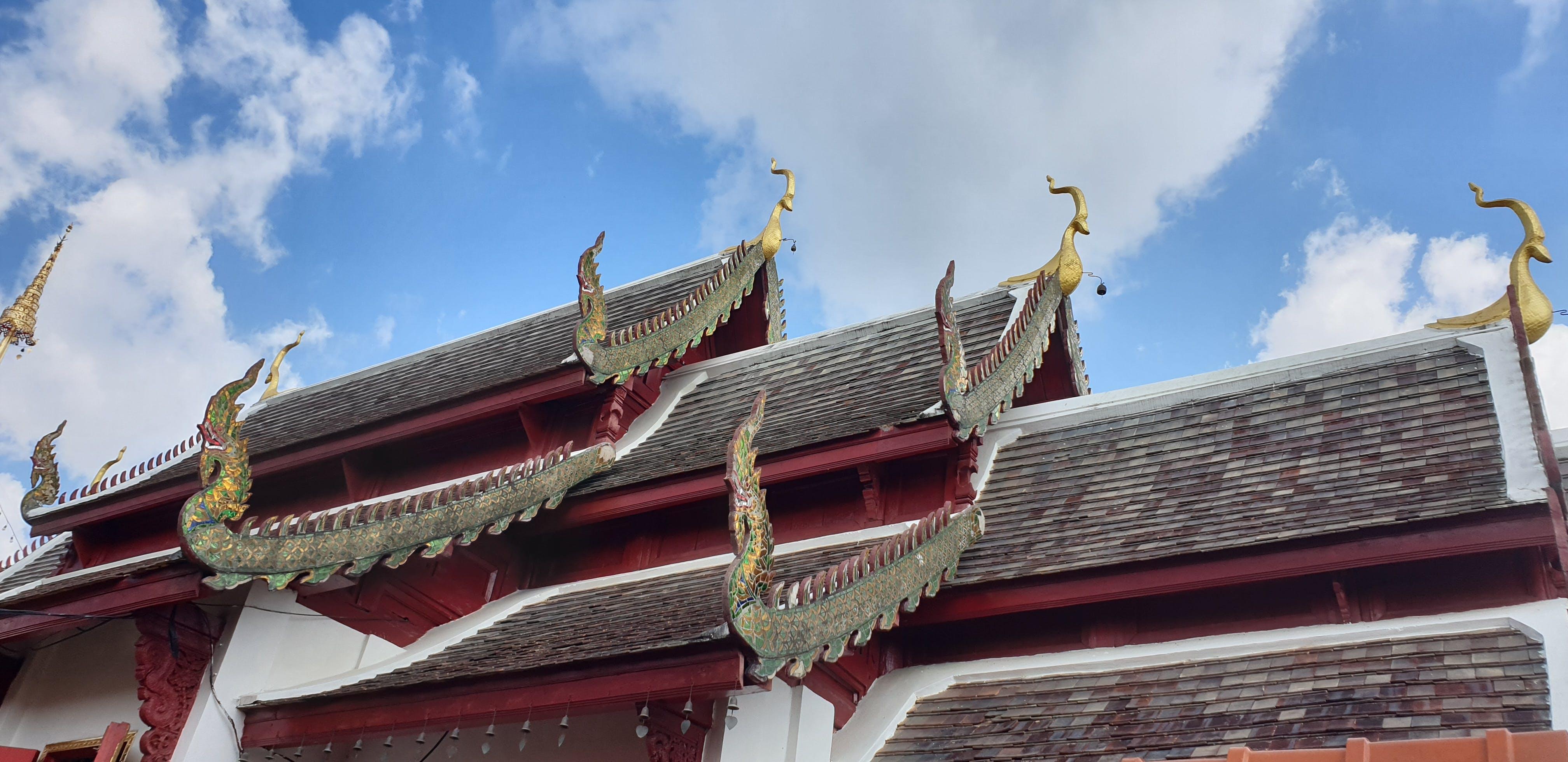 Základová fotografie zdarma na téma #temple #thai #roof