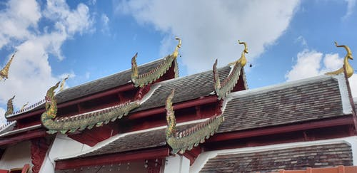 Free stock photo of roof, temple, thai