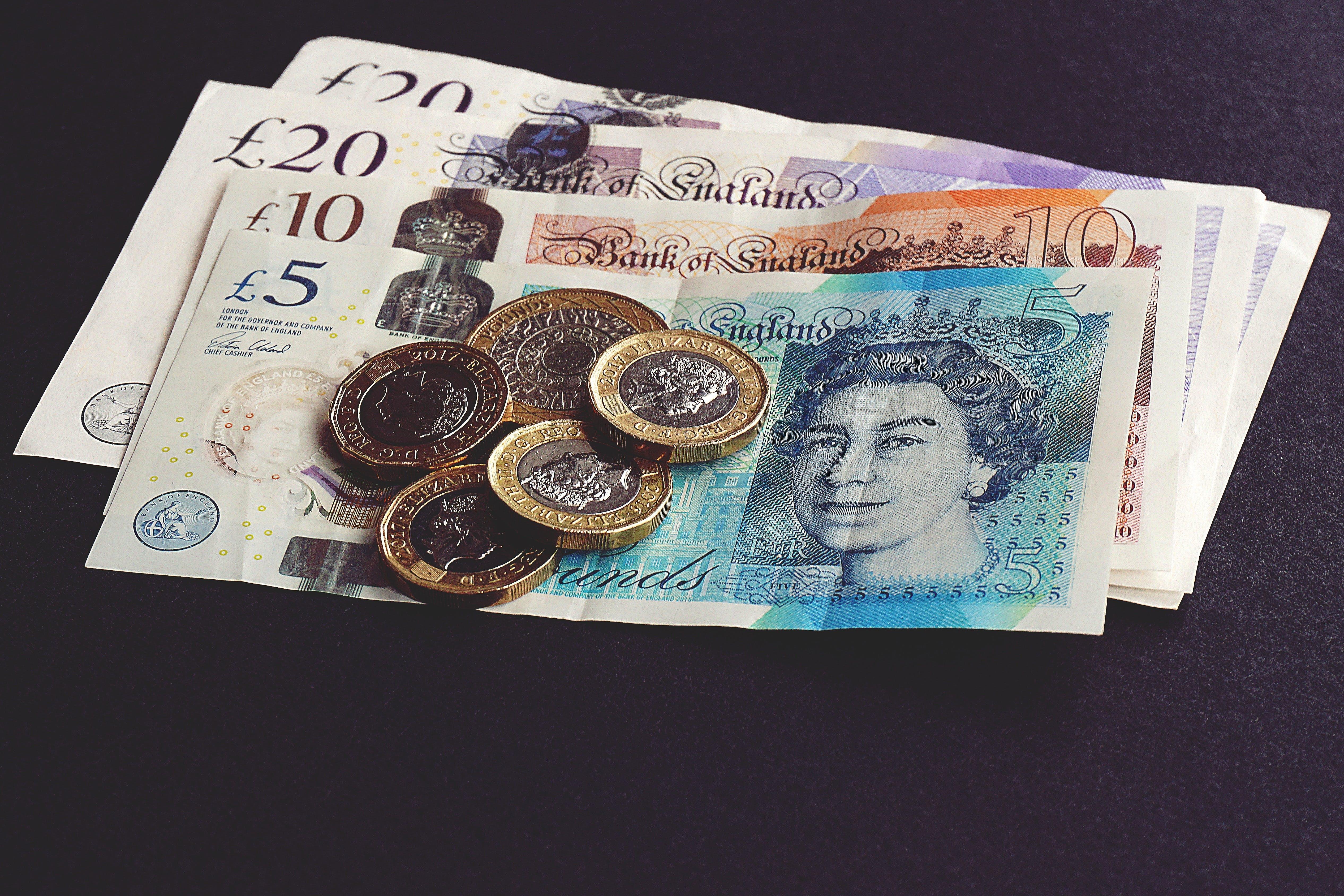 Безкоштовне стокове фото на тему «банкноти, валюта, готівка, гроші»