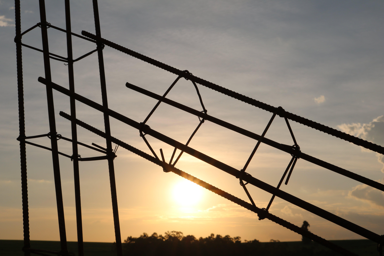 Free stock photo of cloud, evening sun, frame, iron