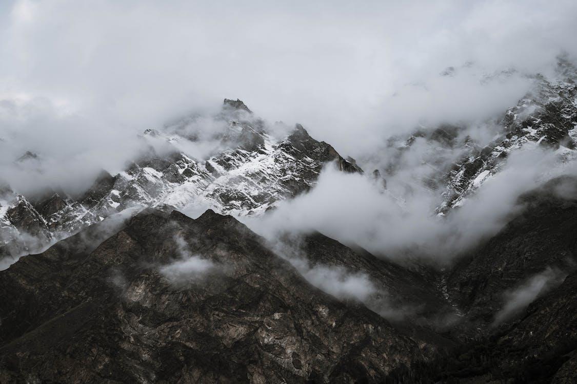 berg, bergen, landskap