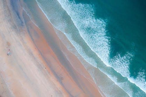 Kostnadsfri bild av fågelperspektiv, från ovan, hav, luftskott