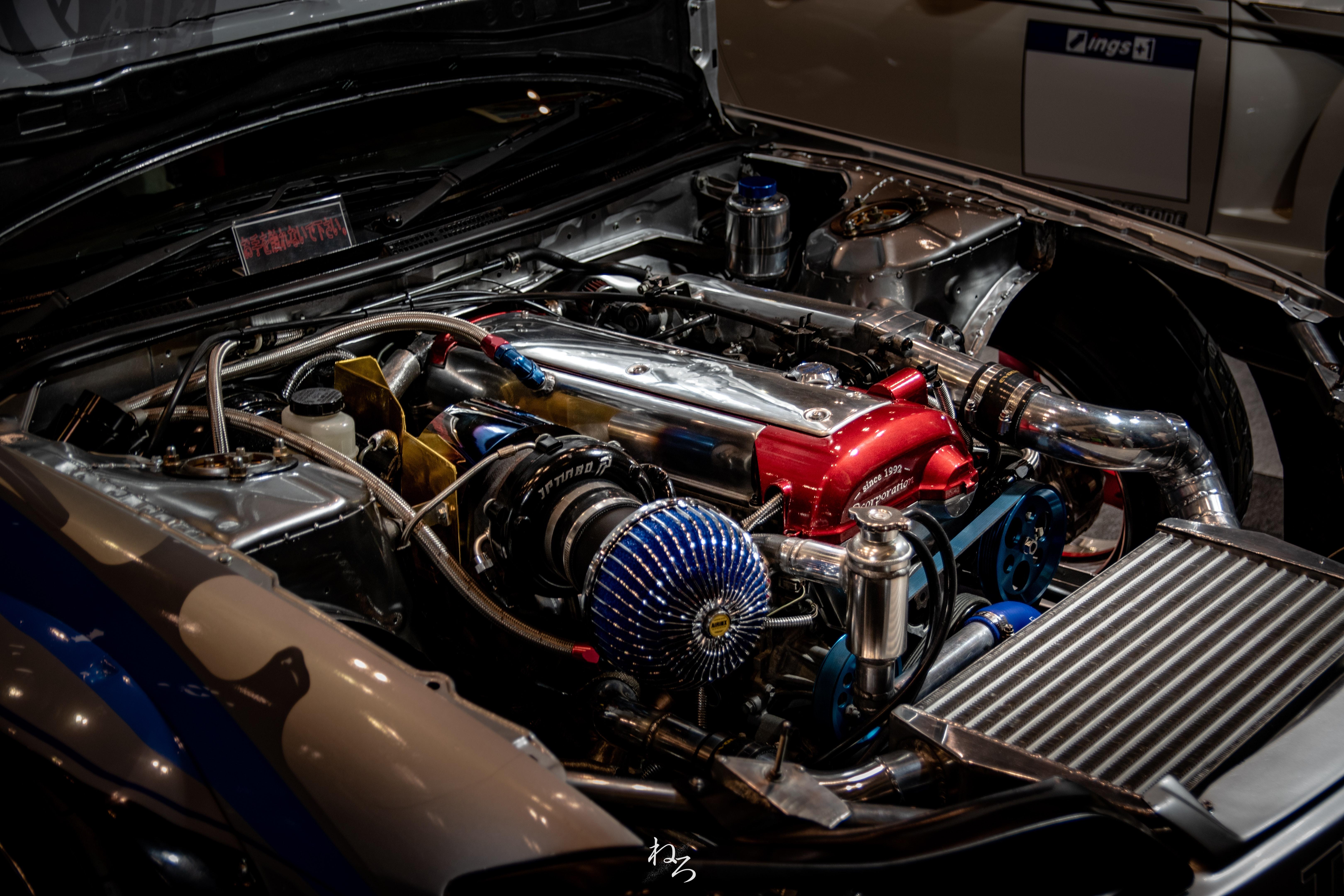 Free stock photo of automotive, car engine
