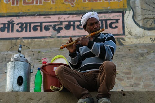 Free stock photo of art, artist, assi ghat, banaras