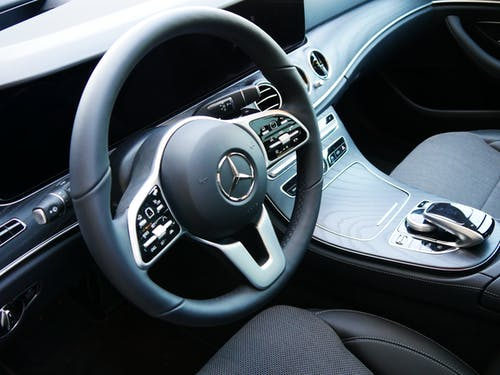 Free stock photo of car, inside, mercedes, mercedes-benz