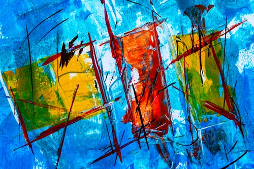 丙烯酸樹脂, 充滿活力, 壁紙, 抽象繪畫 的 免費圖庫相片