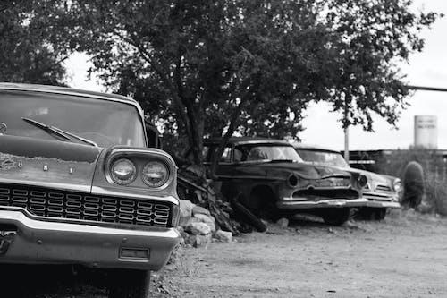 Photos gratuites de vieille voiture, voiture