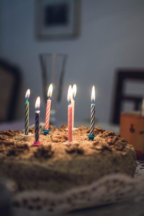bánh ngọt, bánh sinh nhật, cận cảnh