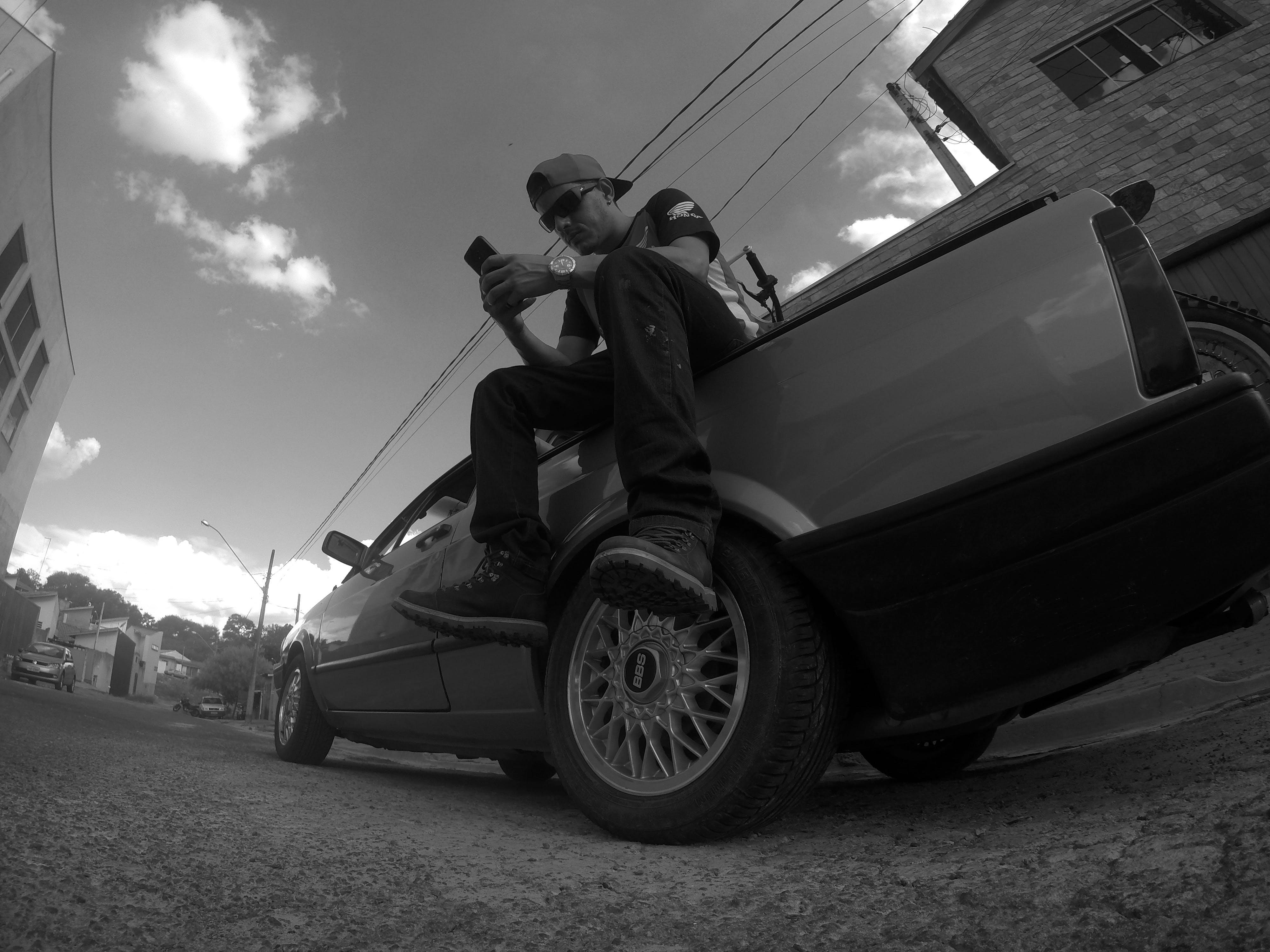 Free stock photo of automobile, cap, car hood, heaven