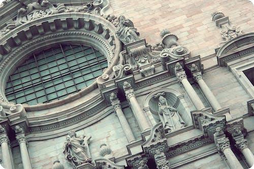 Ilmainen kuvapankkikuva tunnisteilla arkkitehtuuri, girona, kalpea, katedraali