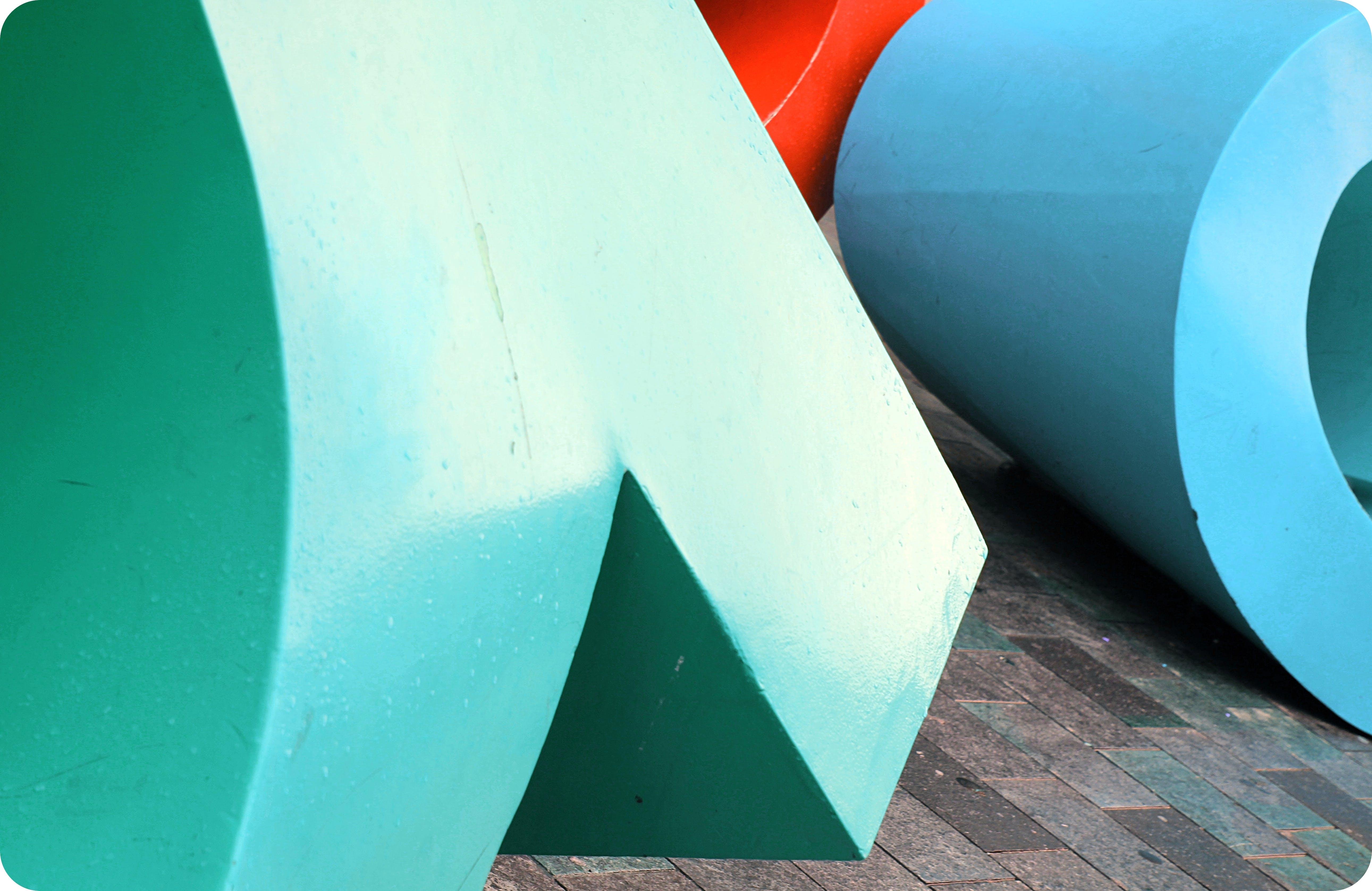 Free stock photo of aqua, blue, color, colorful