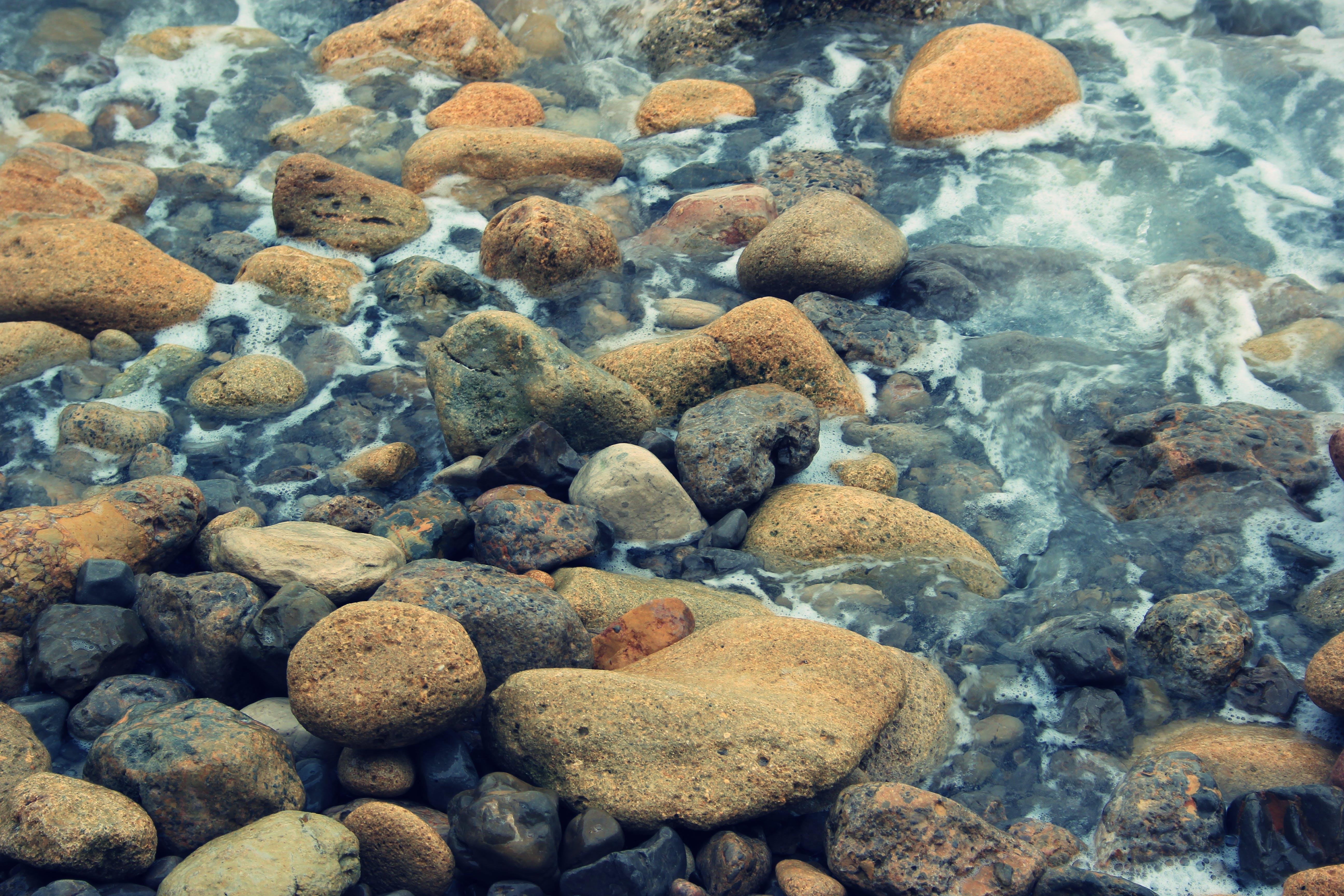 Free stock photo of grey, nature, palette, rocks