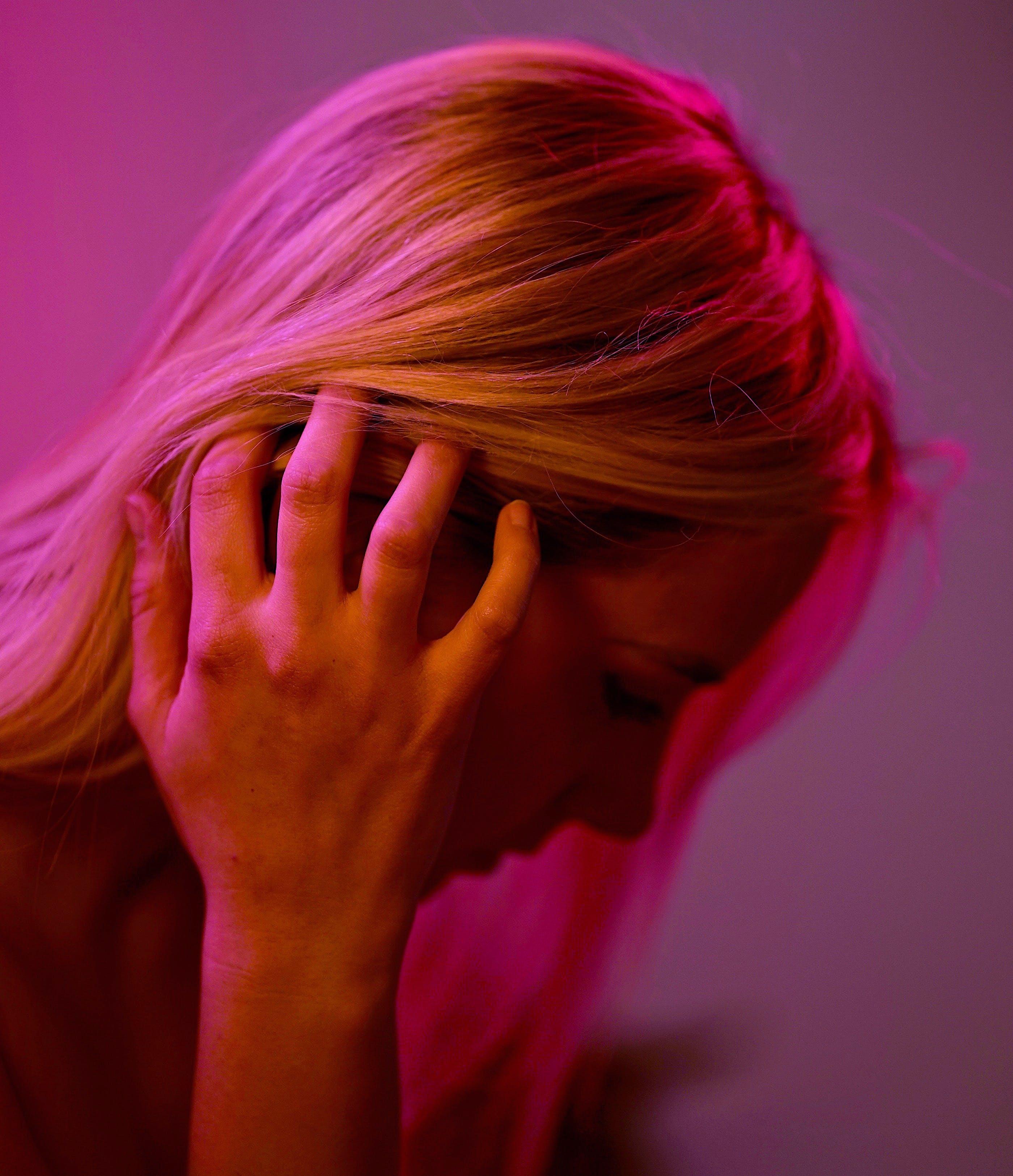 Women's Pink Hair