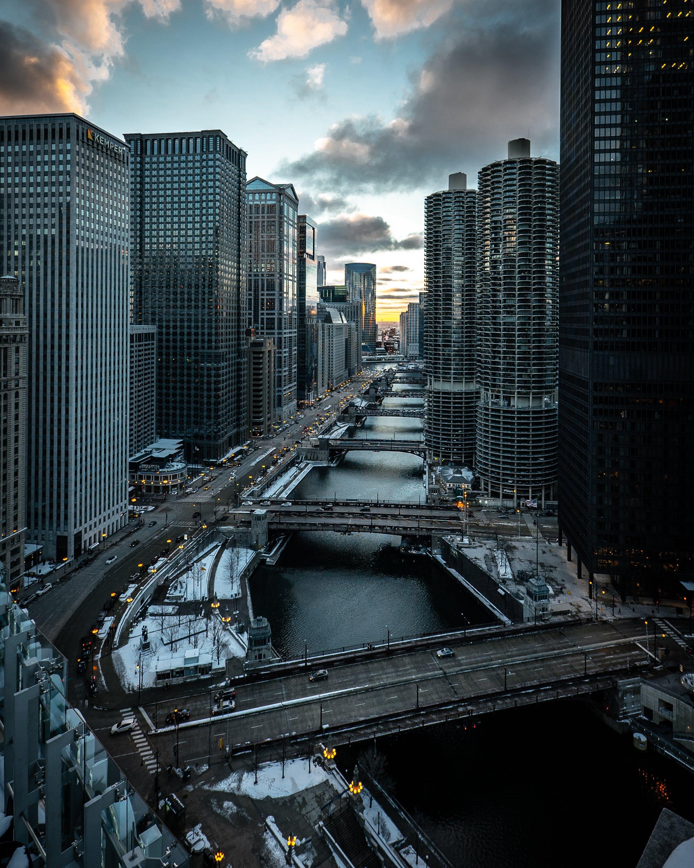 Δωρεάν στοκ φωτογραφιών με απόγευμα, αρχιτεκτονική, αστική άποψη, αστική σκηνή