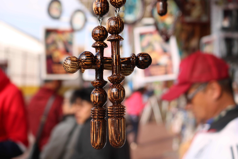 Free stock photo of catholic, close up, cross, wood