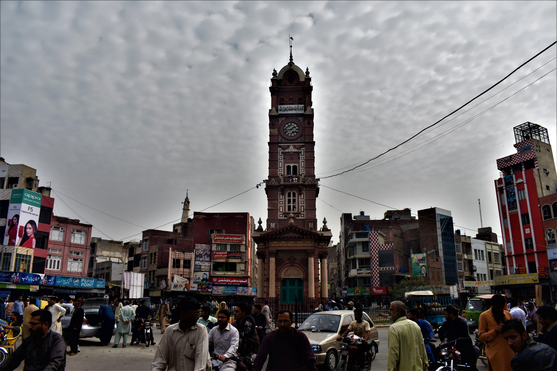 Free stock photo of city center, clock tower, pakistan, photographers