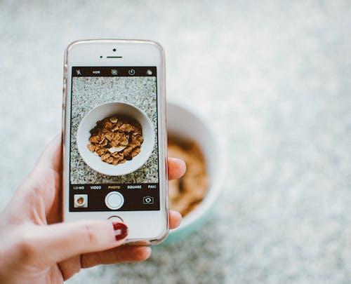 Δωρεάν στοκ φωτογραφιών με iphone, smartphone, δημητριακό, λήψη φωτογραφίας