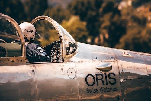 Бесплатное стоковое фото с Авиация, военно-воздушные силы, военный, пилот