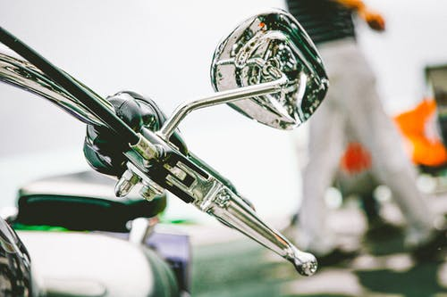 Motorcycle Chrome Side Mirror