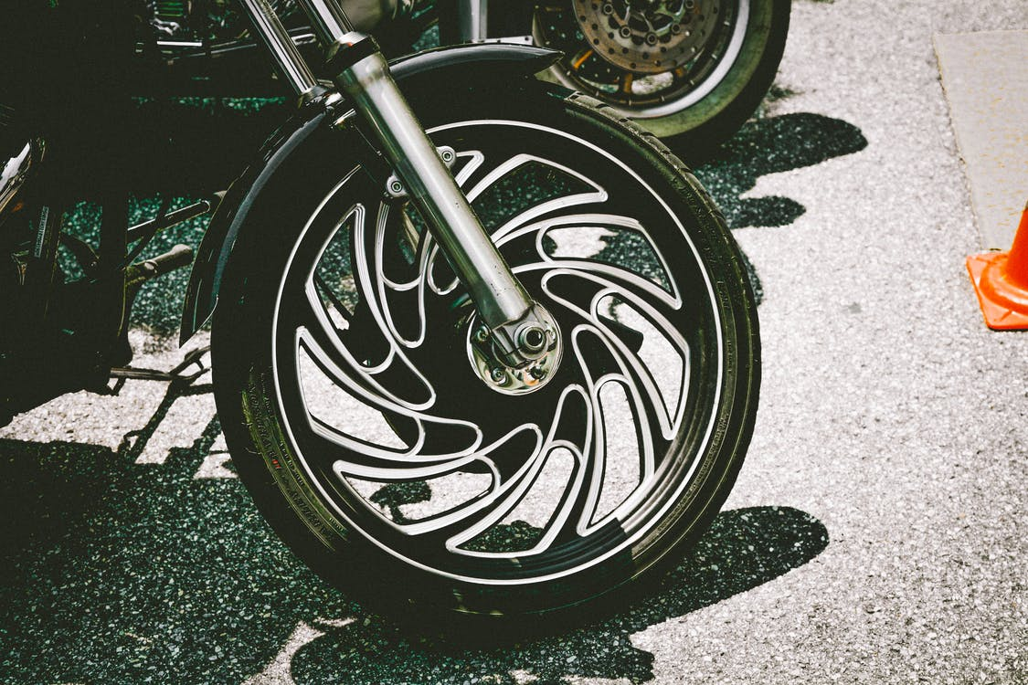 Photo of Motorcycle Wheel