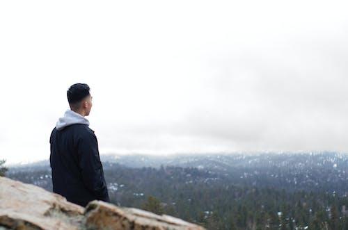 Fotobanka sbezplatnými fotkami na tému chladný, hora, les, lyže