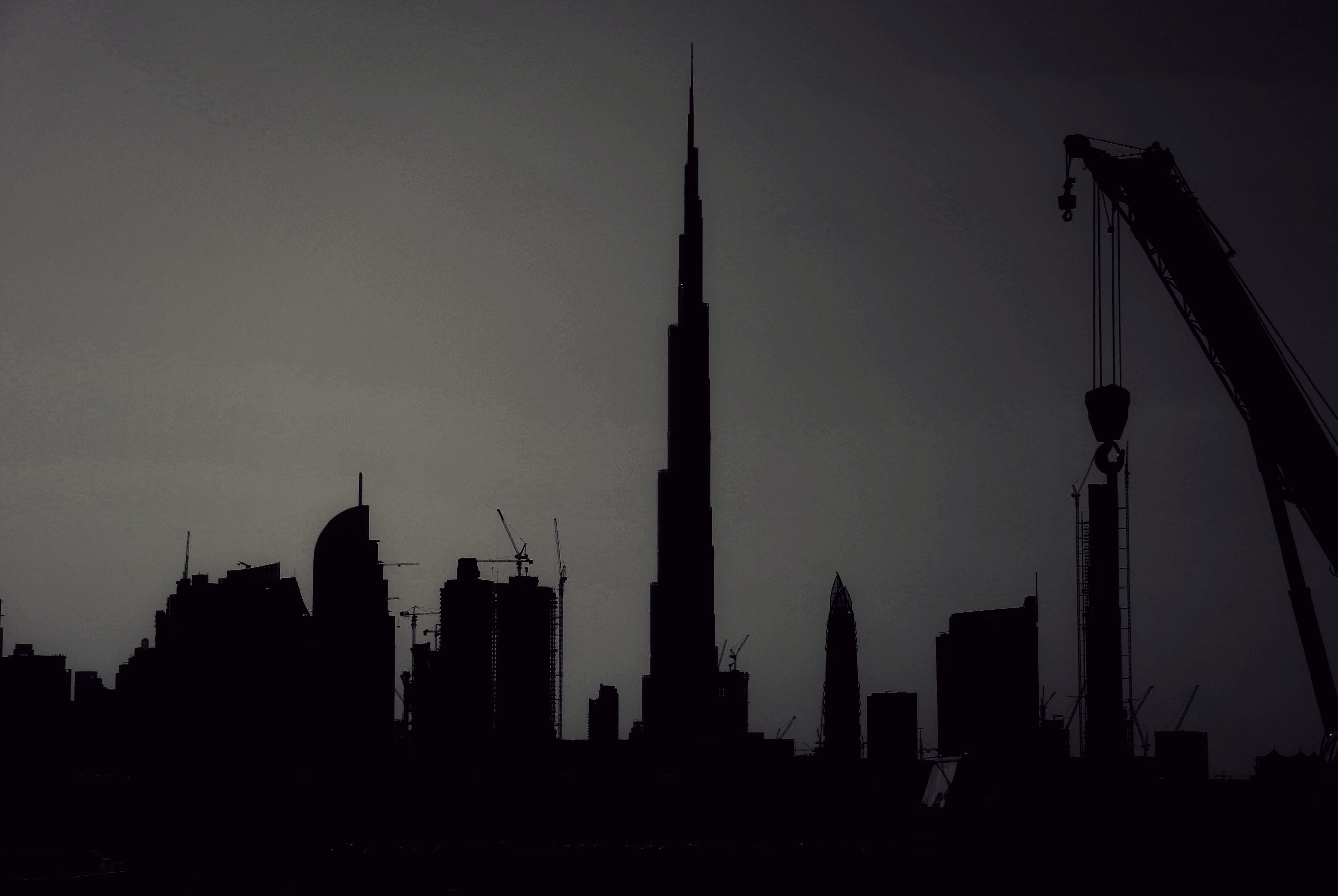 Free stock photo of building, buildings, burj khalifa, caterpillar